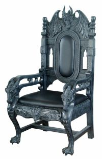 Black Dragon Chair | A Delightfully Gothic House ...