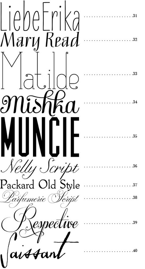 1000+ images about FONTS on Pinterest