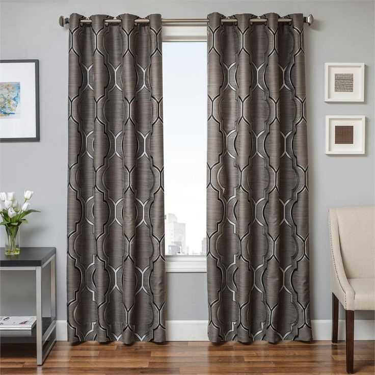 "17 Best Images About 120"" Inch Drapes For Living Room On Pinterest"