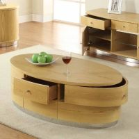 Get hands on this oval shaped beautiful coffee #table that ...