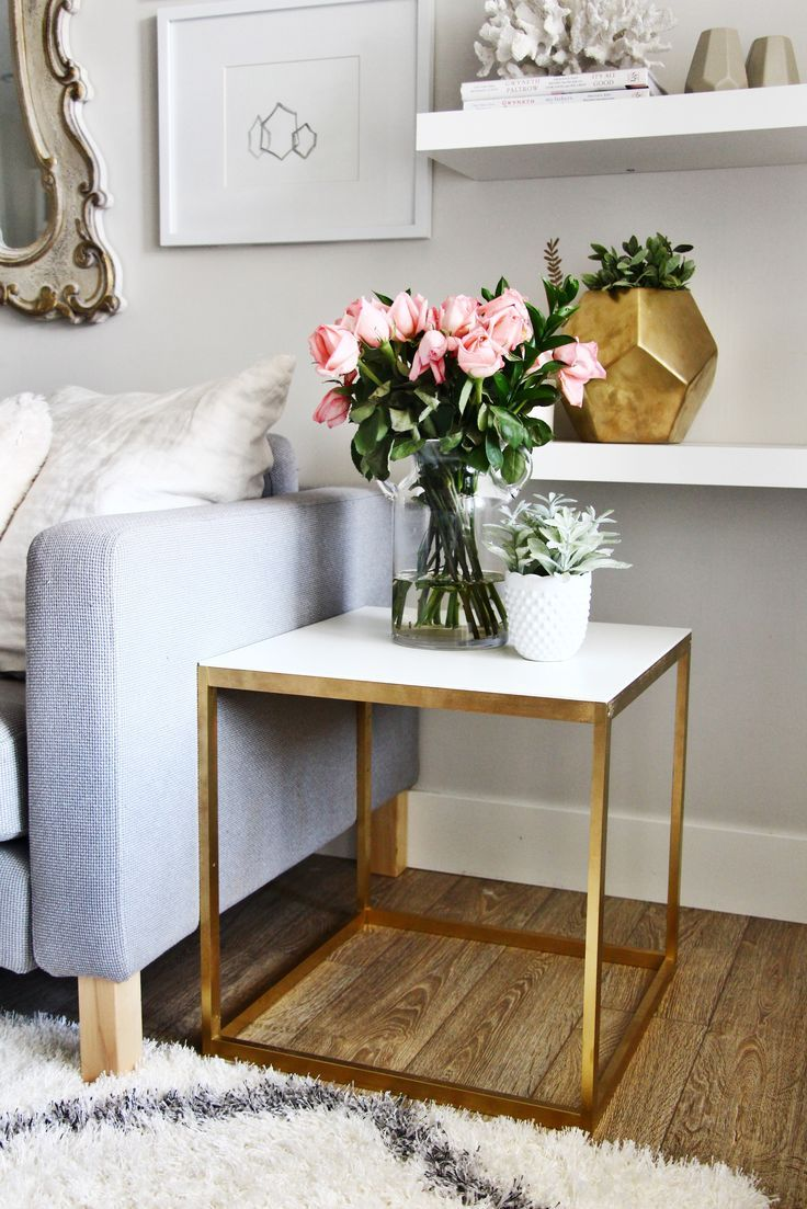Side Table Decorating Ideas