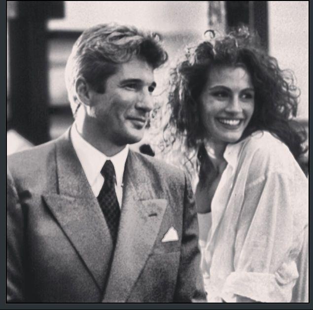 1990. Richard Gere and Julia Roberts in Pretty Woman. #deepcor #film #movies #entertainment #classic #prettywoman #juliaroberts #richardgere ...