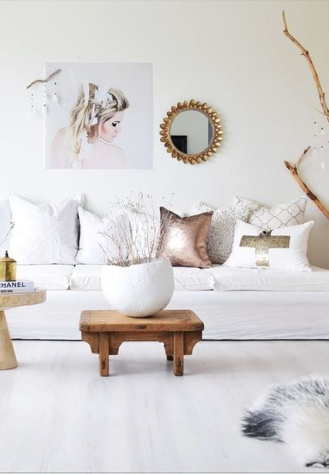 25 best ideas about Gold living rooms on Pinterest  Gold