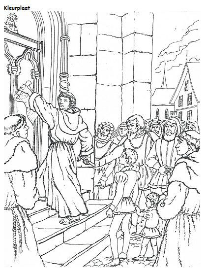 Reformation Coloring Pages : reformation, coloring, pages, Reformation, Coloring, Pages