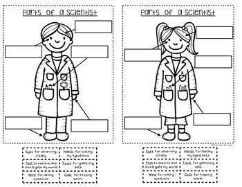 {Being a Scientist} Interactive Journal for Kindergarten
