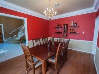 Cheerful Red White Two Tone Wall Paint Ideas Feats Vintage ...