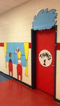 Dr Door & Dr. Suess Door Collage