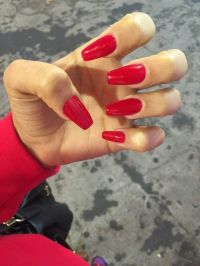 1000+ ideas about Long Red Nails on Pinterest | Red Nails ...