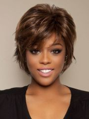 hairstyles short thick