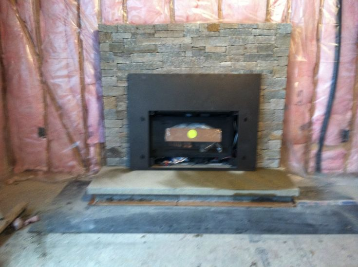 Install Stone Veneers Over Old Brick Fireplace Diy Youtube 25+ Best Ideas About Fireplace Refacing On Pinterest