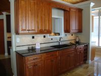 New Line Cabinetry: Shorewood Honey with Antique Brown ...