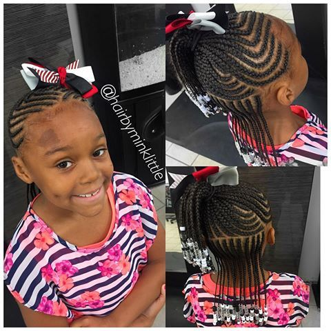 1190 Best Images About Little Black Girls Hair On Pinterest Flat