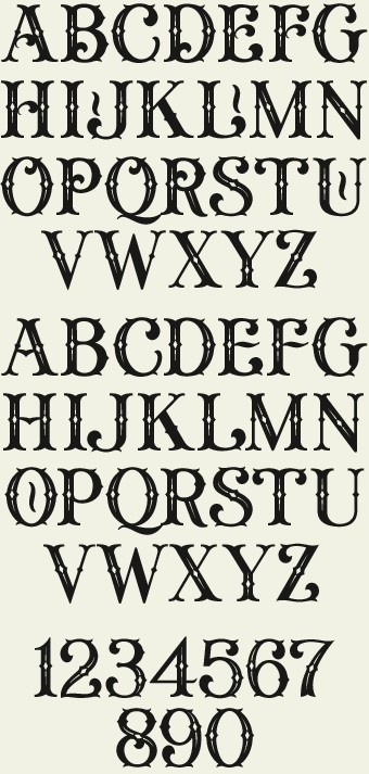 623 best images about Fancy Letters on Pinterest
