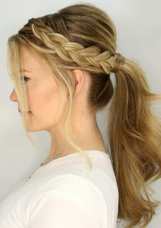 25 Best Ideas  about Formal Ponytail  on Pinterest