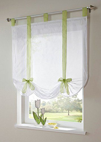 17 Best Ideas About Tie Up Curtains On Pinterest No Sew Curtains