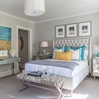 Art over bed, Chanel art and Bedroom yellow on Pinterest