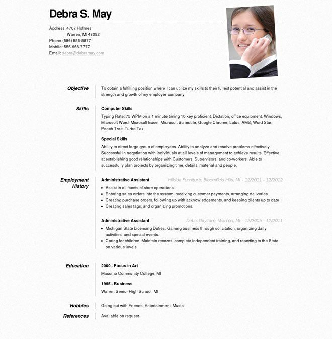 Create Resume Online Template Webcsulb Web Fc2 Com