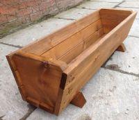 Best 25+ Large wooden planters ideas on Pinterest   Wooden ...