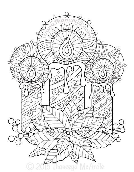 1000+ ideas about Christmas Coloring Sheets on Pinterest