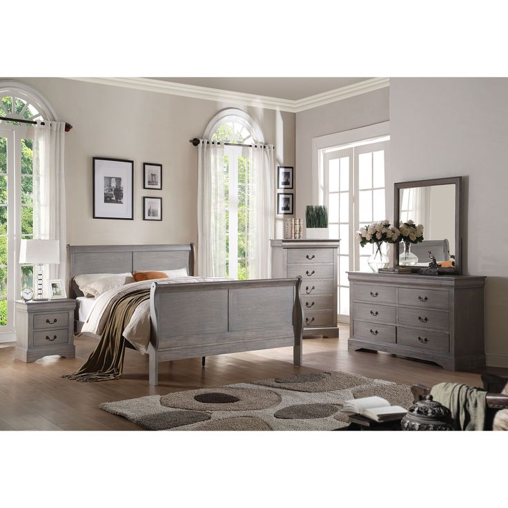 25 best ideas about Grey Bedroom Furniture on Pinterest