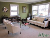 Behr tate olive paint color...for office?   New house ...