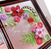 Ayani art: quilled roses