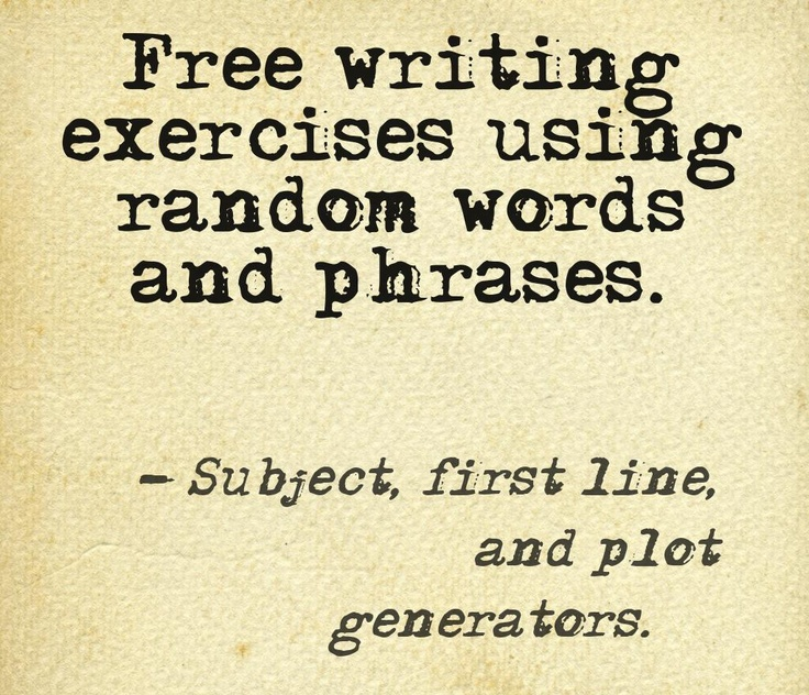 exercises and activities on pinterest writing fiction