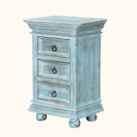 1000+ ideas about Blue Nightstands on Pinterest   Blue ...