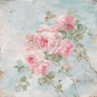 "Romantic Shabby Chic ""Harmony"" Roses by Debi Coules"