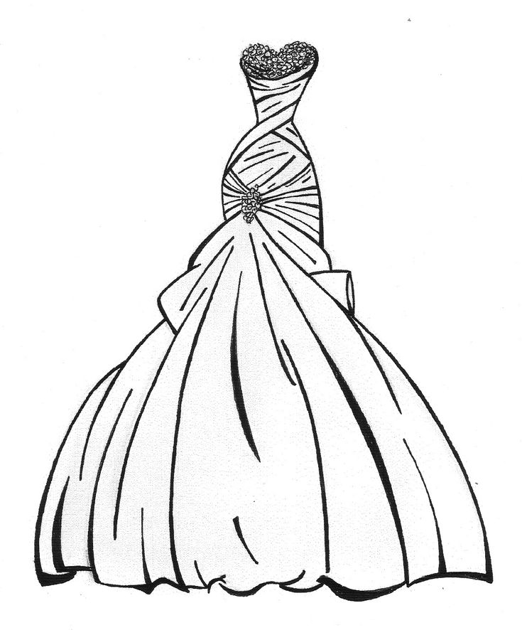 17 Best images about Wedding Dress İllustration on