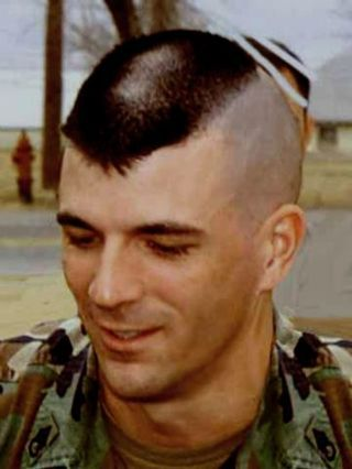 military haircut  Landing Strip Haircut  Mens Hair  Pinterest  Military Mens haircuts and