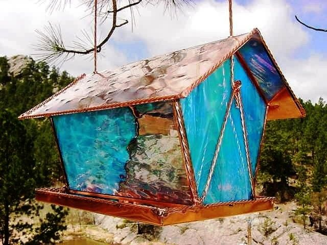 1000 Images About STAINED GLASS BIRDHOUSE On Pinterest