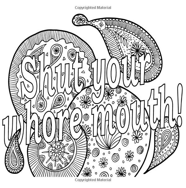 454 best images about Vulgar Coloring Pages on Pinterest