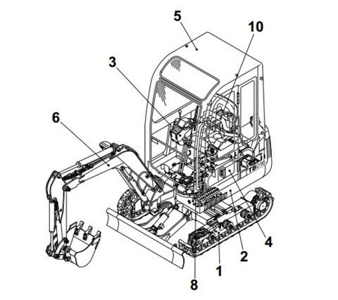 1000+ images about Download Takeuchi Service Manual on