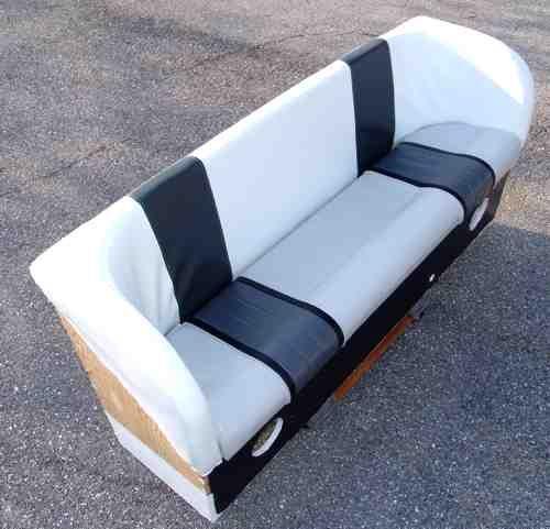 Homebuilt Boat Bench  Boat Renovation  Pinterest