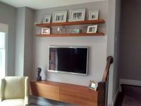 17 Best ideas about Tv Wall Shelves on Pinterest