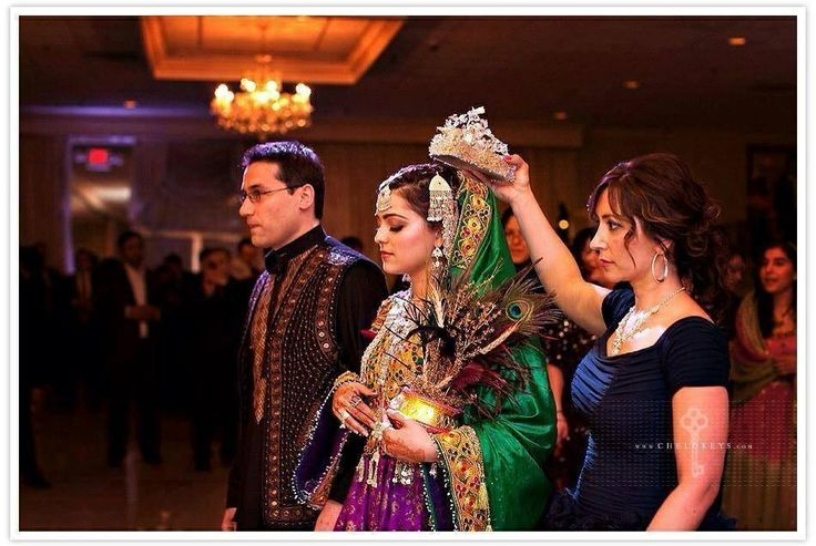 Afghan Wedding Tradition Afghan Wedding Pinterest