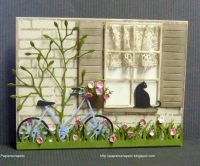 25+ best ideas about Window cards on Pinterest | Scrapbook ...