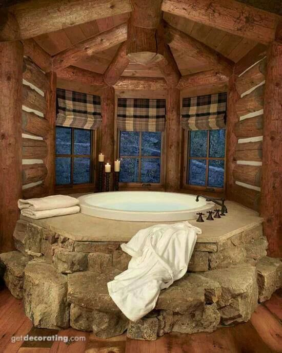 119 best images about Log Home Bathroom Ideas on Pinterest  Log cabin bathrooms Rustic