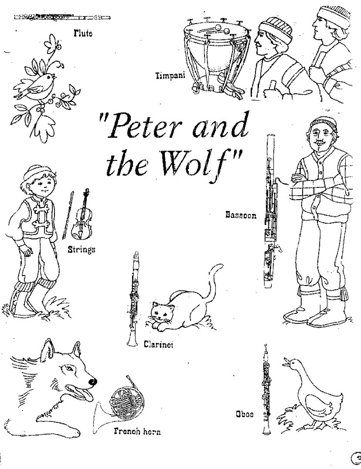 22 best images about SQUILT-Peter and the Wolf on