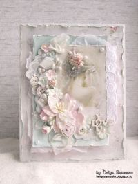 25+ best ideas about Shabby chic cards on Pinterest
