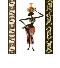 African Woman, Afrocentric Decor, Afro Painting, African ...