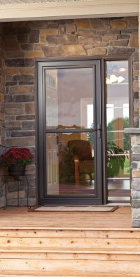 25+ best Storm doors ideas on Pinterest | Front screen ...