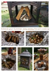 Easy Campfire and Fire Pit Cooking Ideas | Diy | Pinterest ...