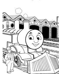 202 best Coloriages Thomas le train images on Pinterest