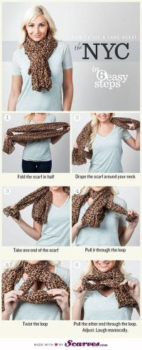 Best 20+ Scarf Ideas ideas on Pinterest | Ways to tie ...
