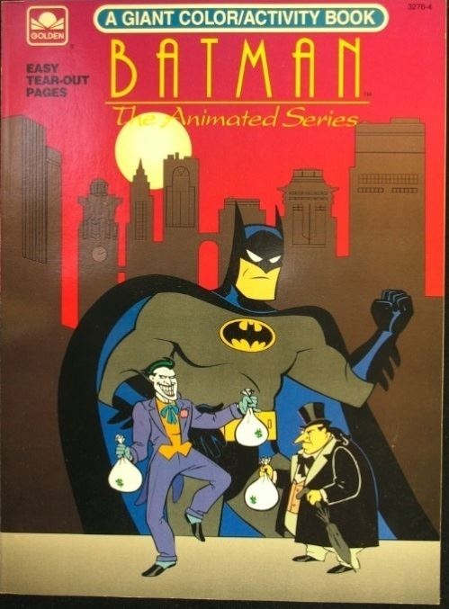 Batman The Animated Series Coloring Book Batman The