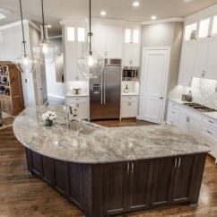 Beadboard Kitchen Island Rv Appliances Artistic Tile I Beautiful Brazilian Cielo Quartzite ...