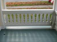 sawn baluster porch railing, beautiful | For the Home ...