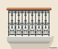 15 Must-see Iron Balcony Pins | Balcony railing, Iron work ...